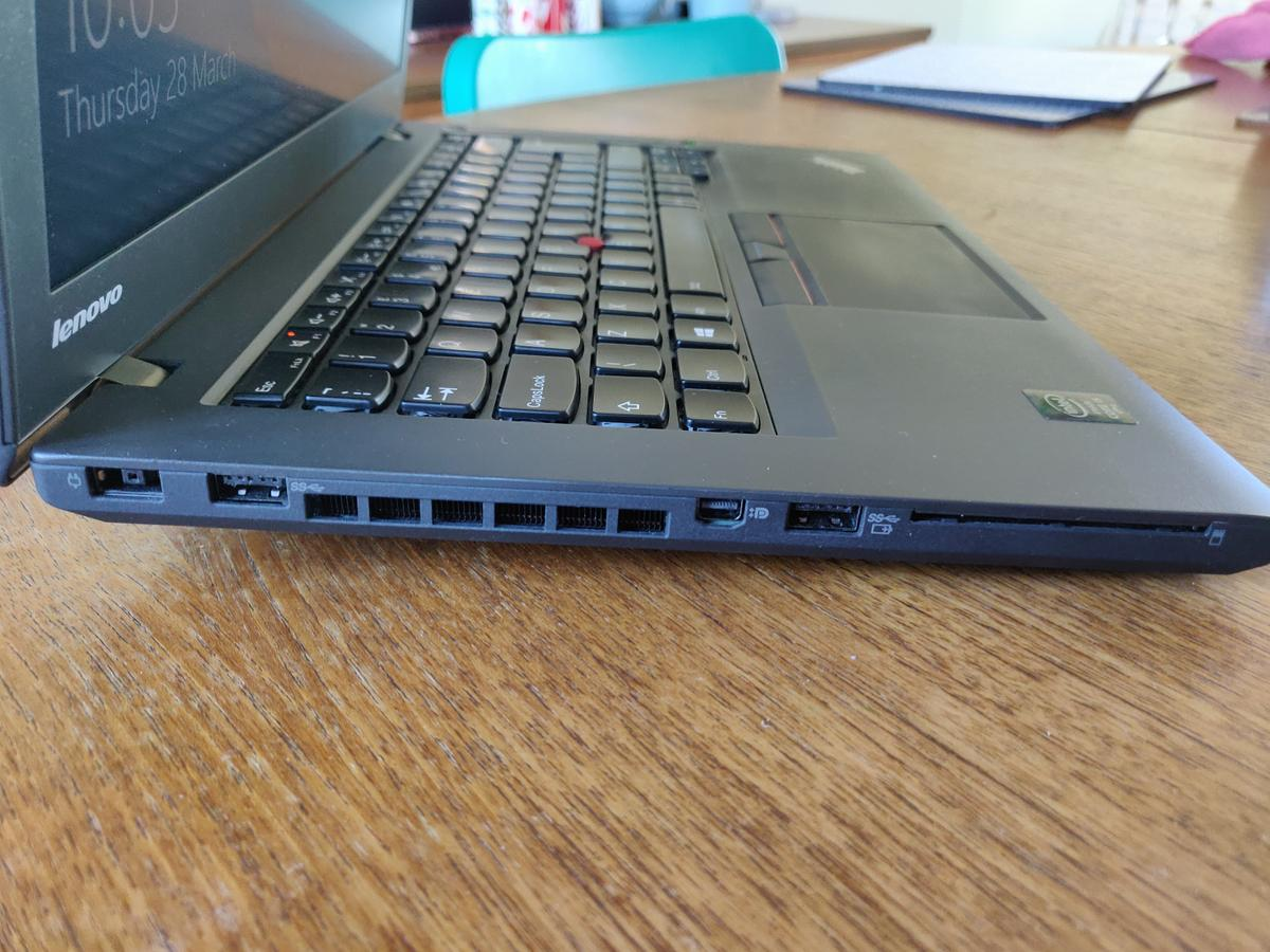 Lenovo T450 i5 8GB RAM 240GB SSD Windows 10 in Rossendale