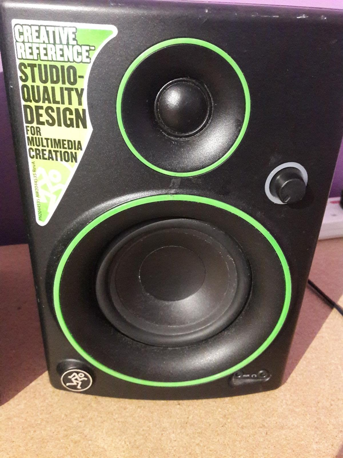 MACKIE CR4 ACTIVE MONITOR SPEAKERS in TW5 London for £45 00