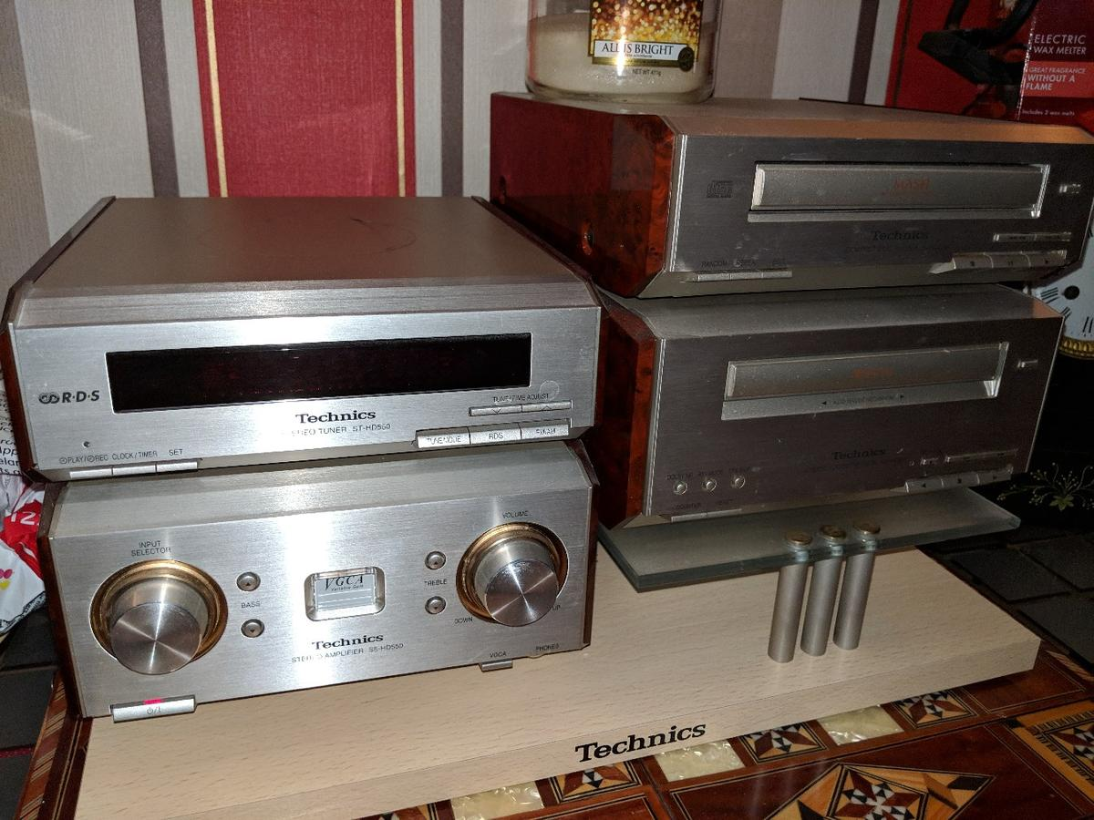 Technics Cd stereo system in PR2 Preston for £70 00 for sale