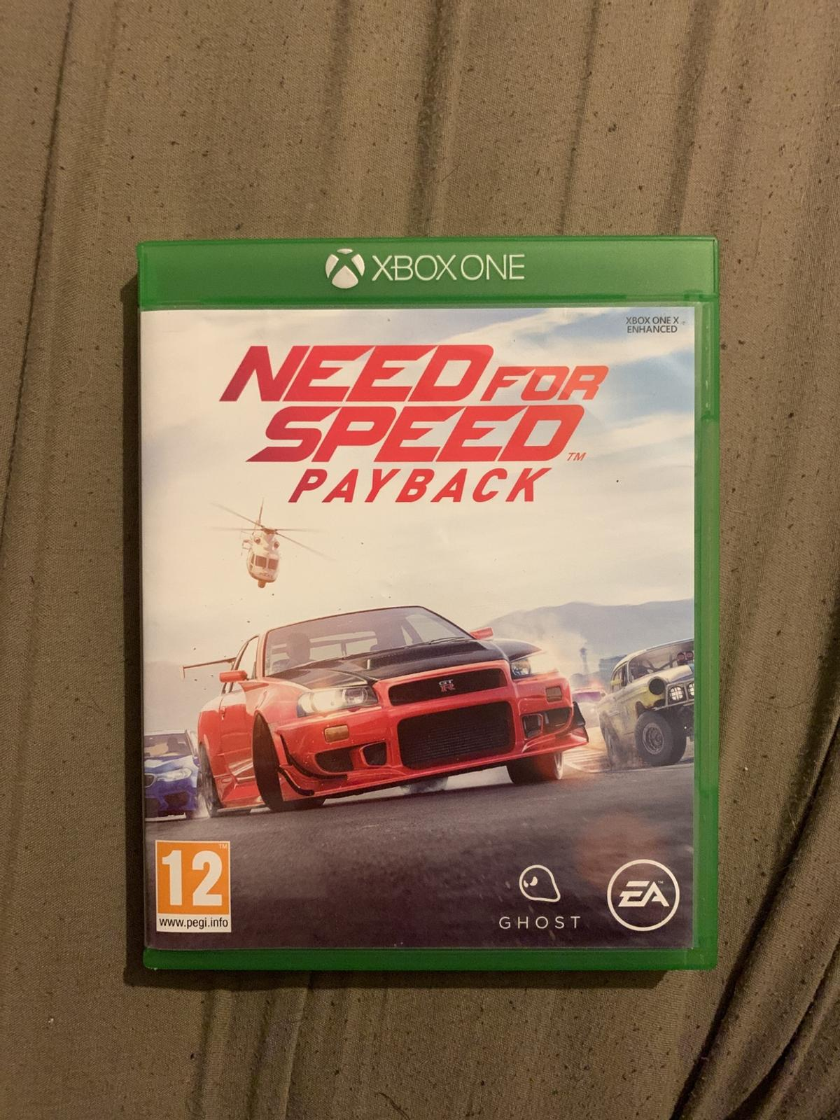 Xbox One Need For Speed Payback In South Cambridgeshire For 30 00