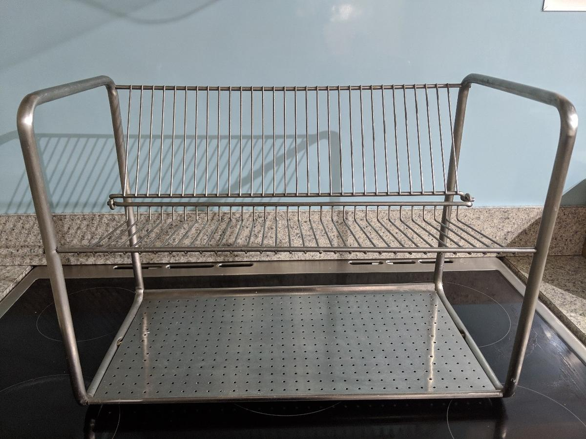 Ikea Ordning Stainless Steel Dish Drainer in South