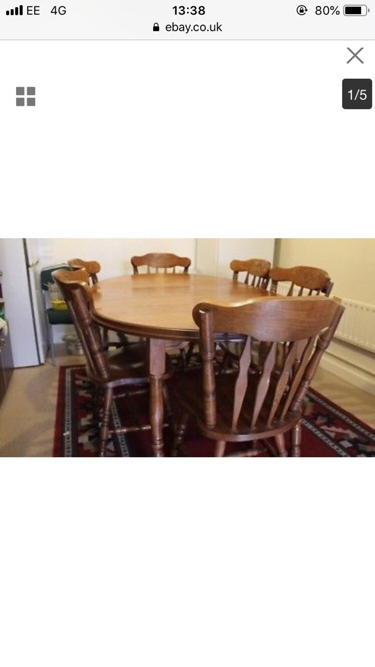 Groovy Dark Wood Dining Table In E14 Hamlets For 300 00 For Sale Onthecornerstone Fun Painted Chair Ideas Images Onthecornerstoneorg