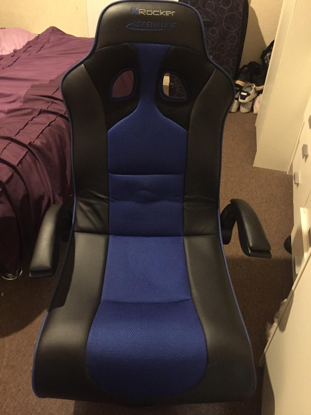 Marvelous X Rocker Adrenaline Gaming Chair Ps4 Xboxone In London Pdpeps Interior Chair Design Pdpepsorg