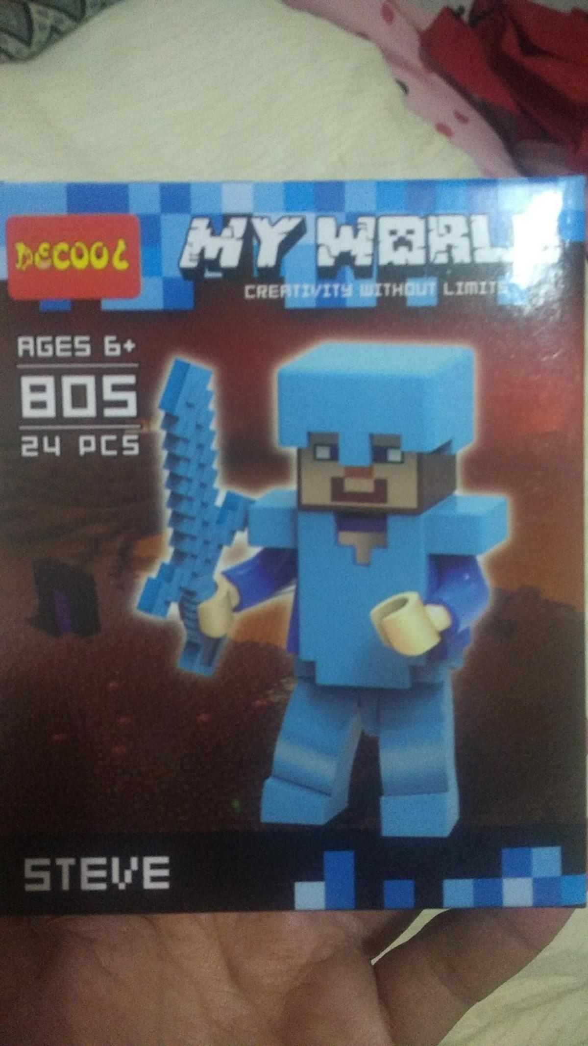 Minecraft Steve Diamond Armour Action Lego In Ws10 Walsall For 4 00 For Sale Shpock