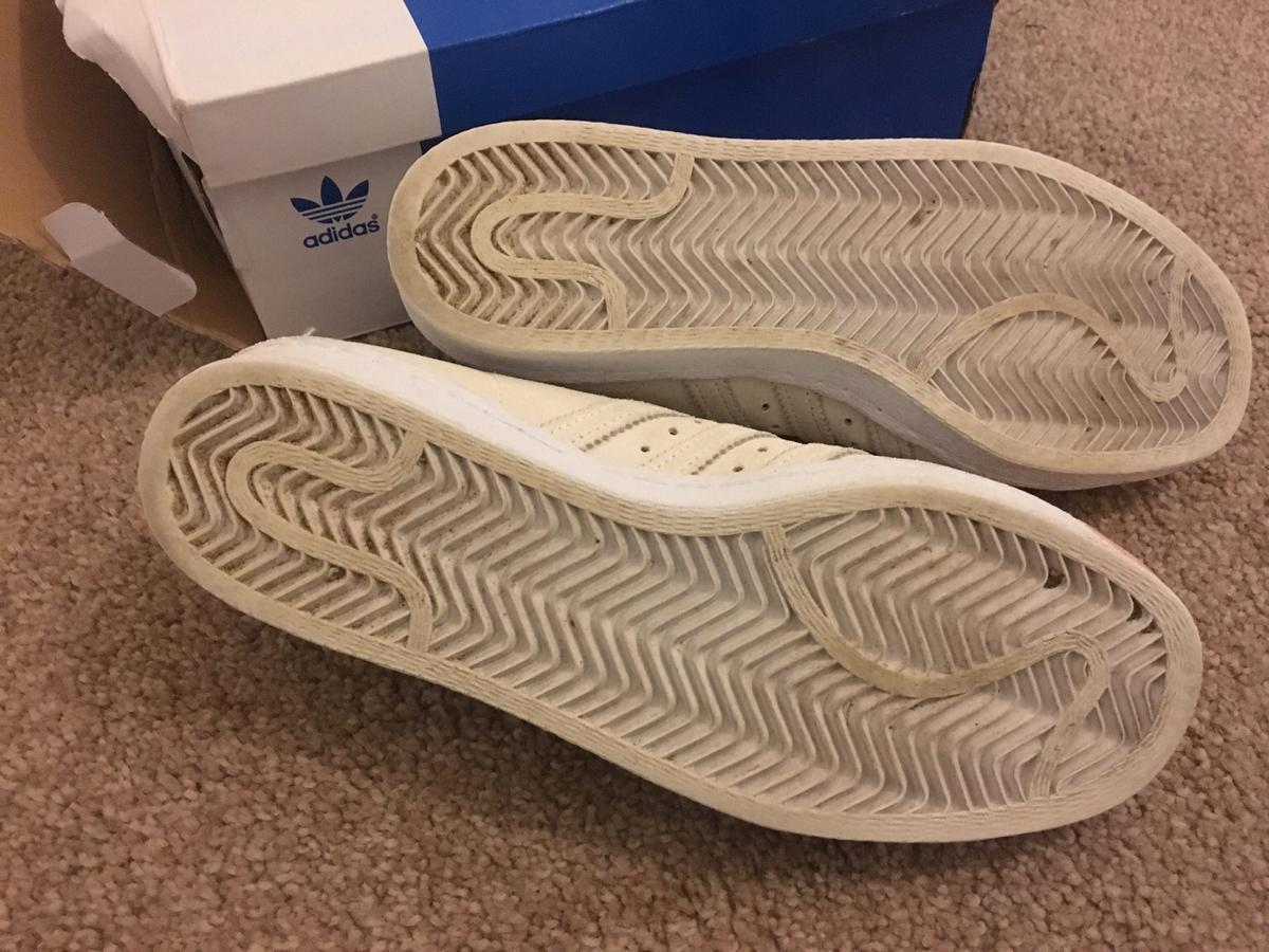 tout neuf 03be5 2fa82 80s adidas superstars rose gold beige uk5 in Manchester for ...