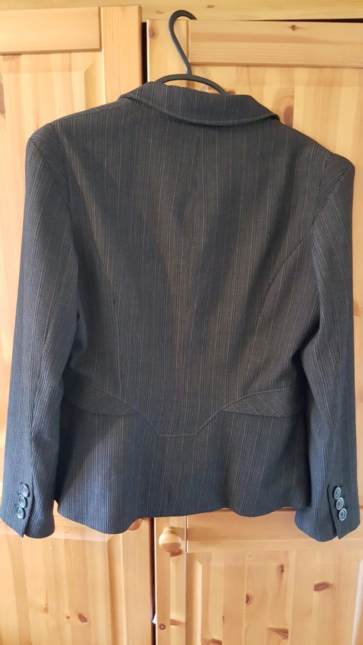 Next gray stripes suit jacket size 14 in NG5 Nottingham for