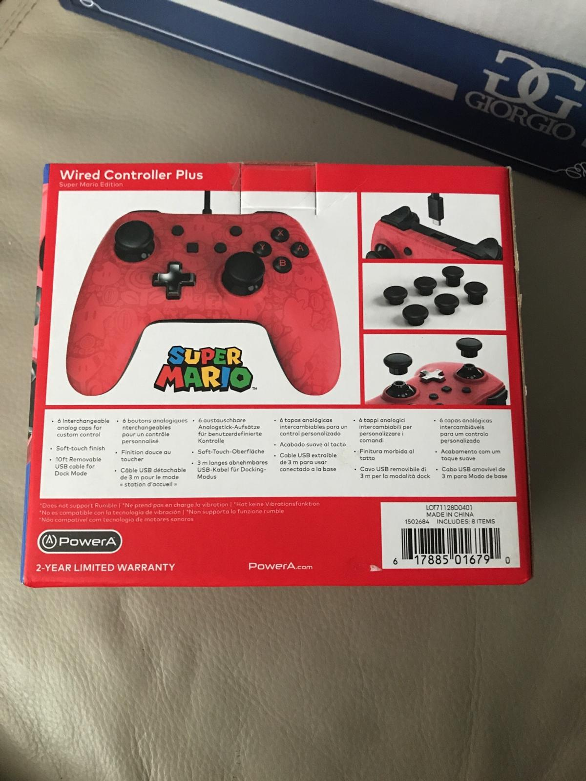 Nintendo switch wired controller BNITB