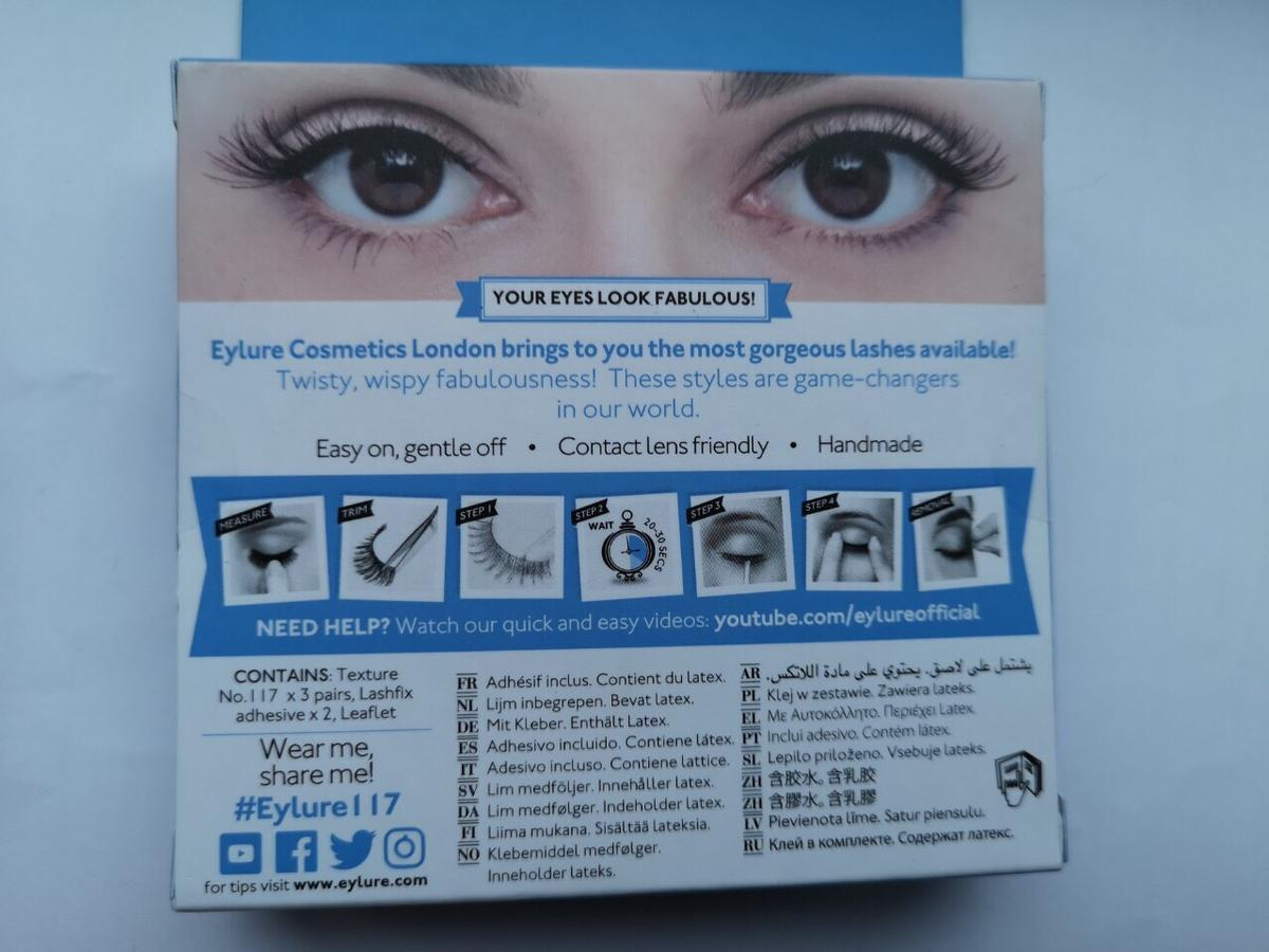a471f2c3bc6 Eyelure no.117 wispy eyelashes, 3 pairs in CV2 Coventry for £5.50 ...