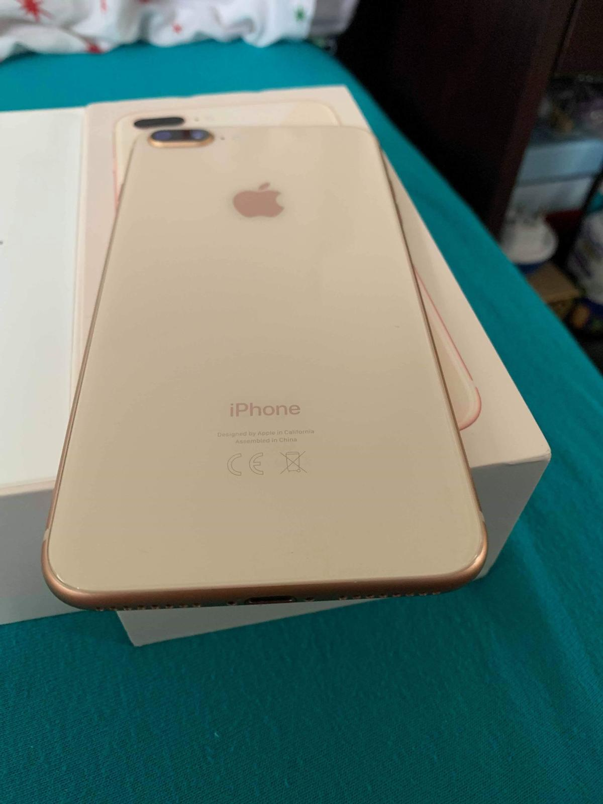 iPhone 8plus 64gb gold in RM15 Purfleet for £400 00 for sale