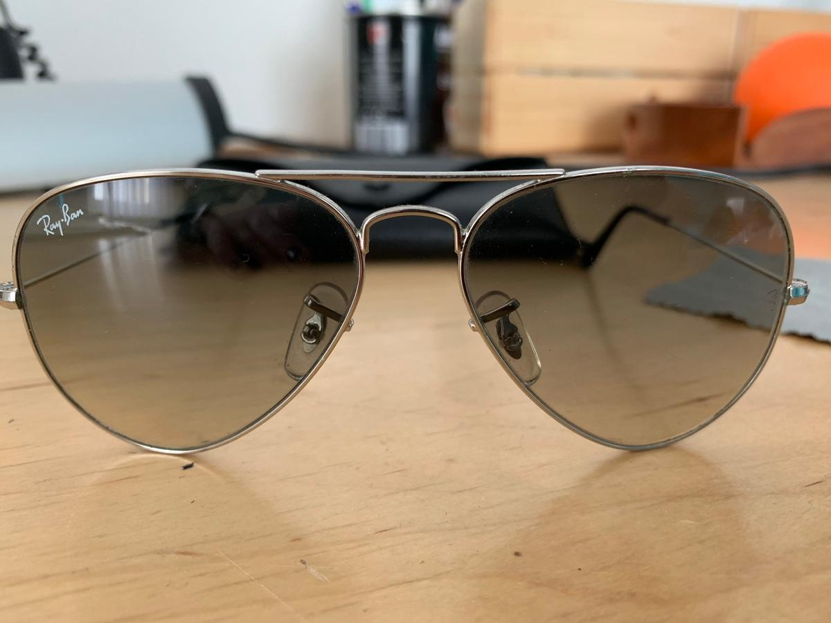 ee1a5428d14d2b Ray Ban Pilotenbrille Silber in 70435 Stuttgart for €40.00 for sale ...
