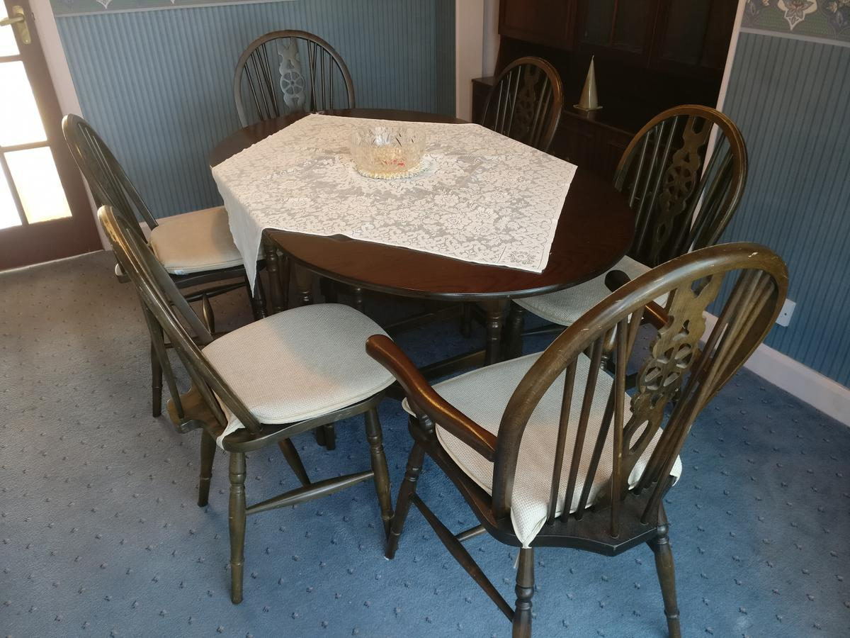 Dining Table Chairs Reduced