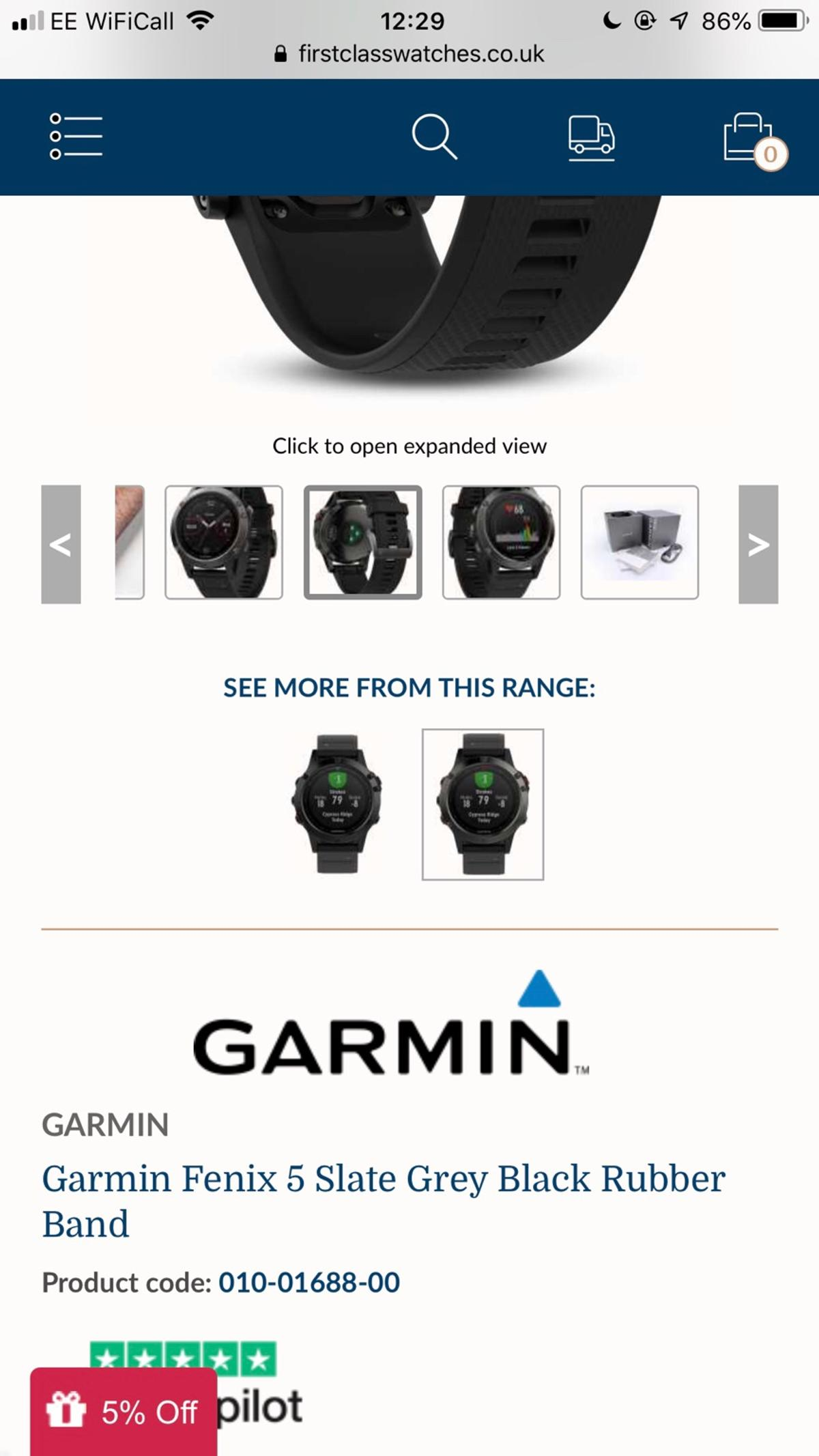 Garmin Fenix 5 & 5X Plus in SE8 London for £400 00 for sale
