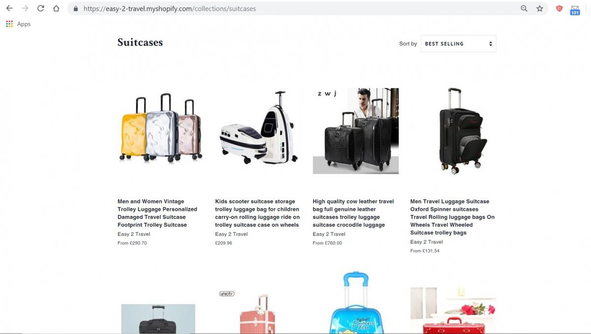 Profitable online travel products business in SE25 London