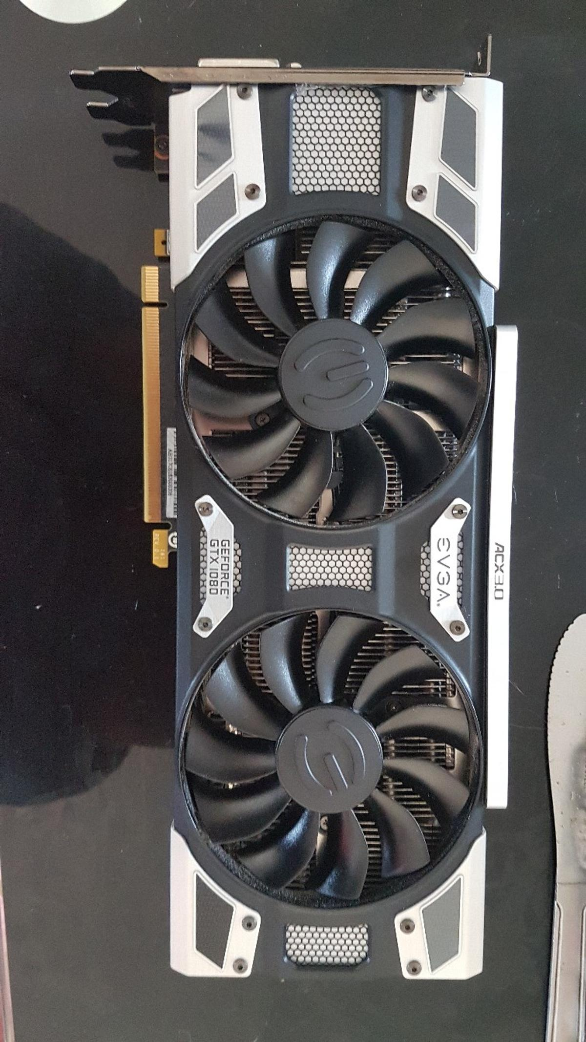 EVGA GTX 1080 SC 8GB Nvidia graphics card in S44 North East
