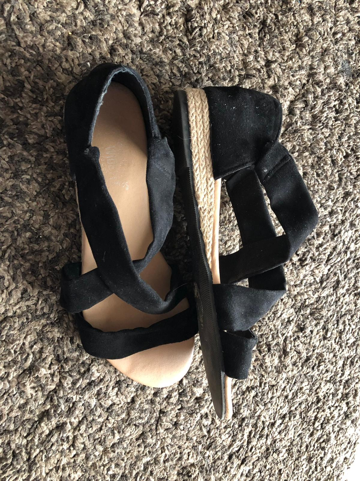 948b76ae6 Ladies black strappy sandals size 6 in WS10 Sandwell for £2.00 for ...