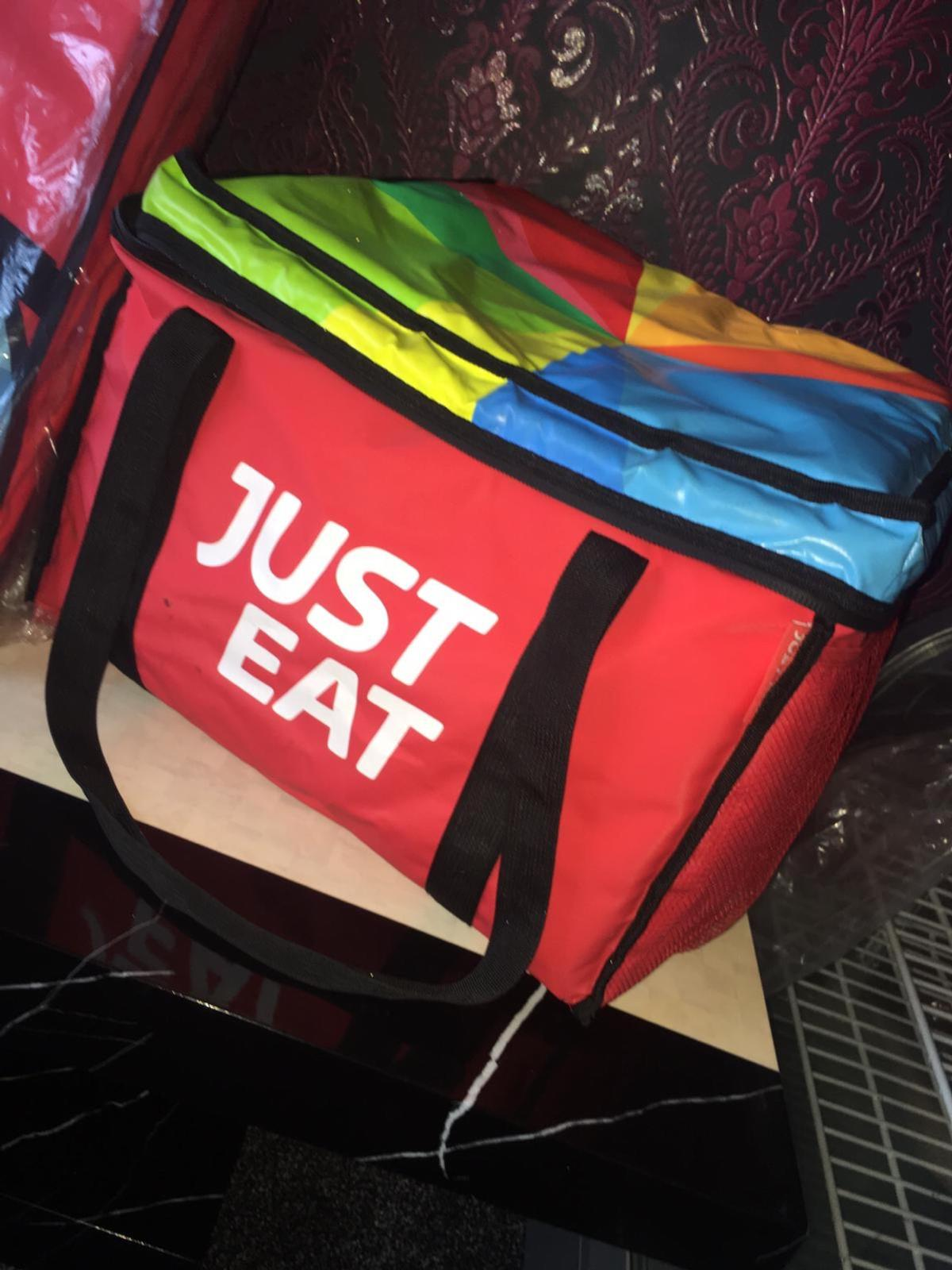 Just Eat Delivery Bags In Bl3 Bolton For 2000 For Sale