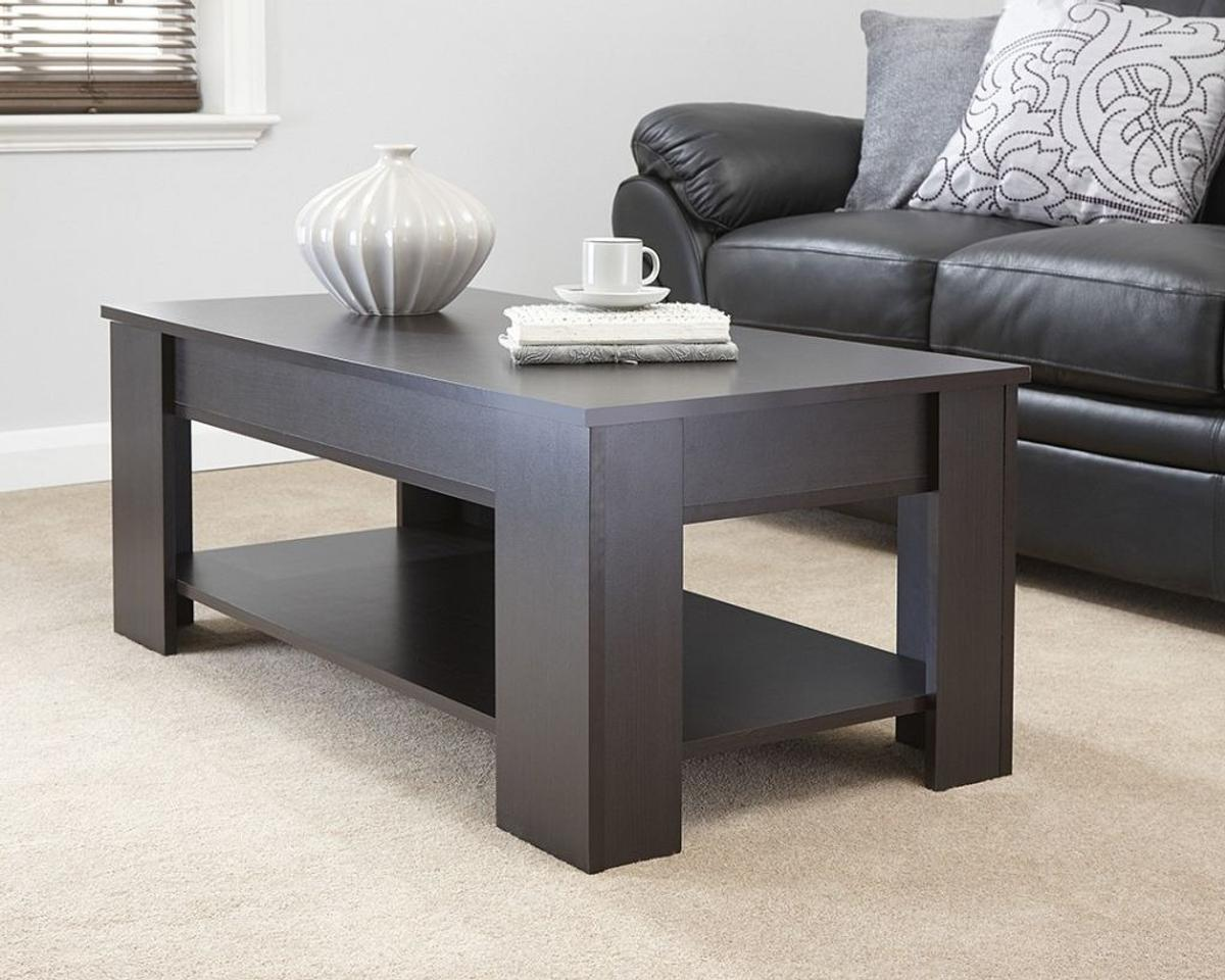 Lift Up Coffee Table With Storage 9