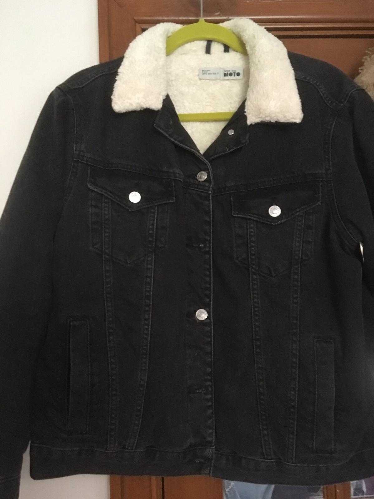 special for shoe amazing price quite nice Topshop black denim jacket