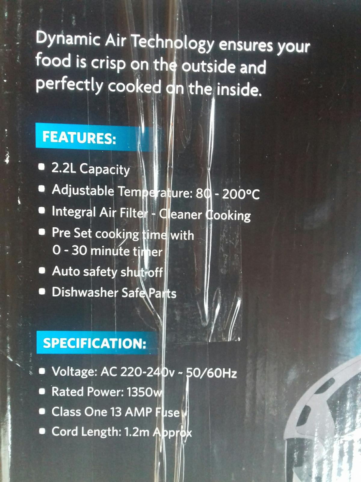 Thermo air fryer ( brand new ) in B66 Sandwell for £25 00