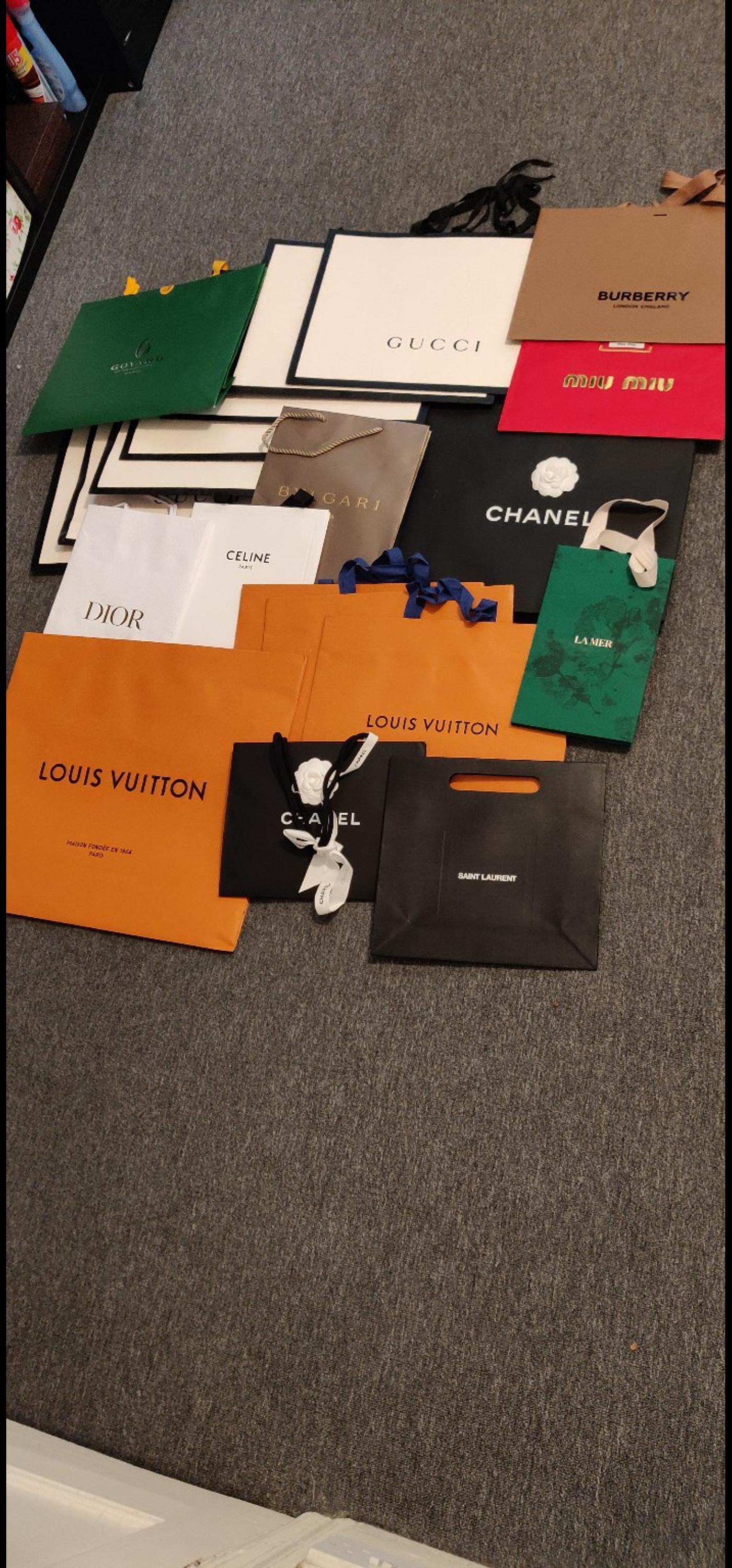 920df34191f0 designer paper bags and boxes in TW7 London for £1.00 for sale - Shpock