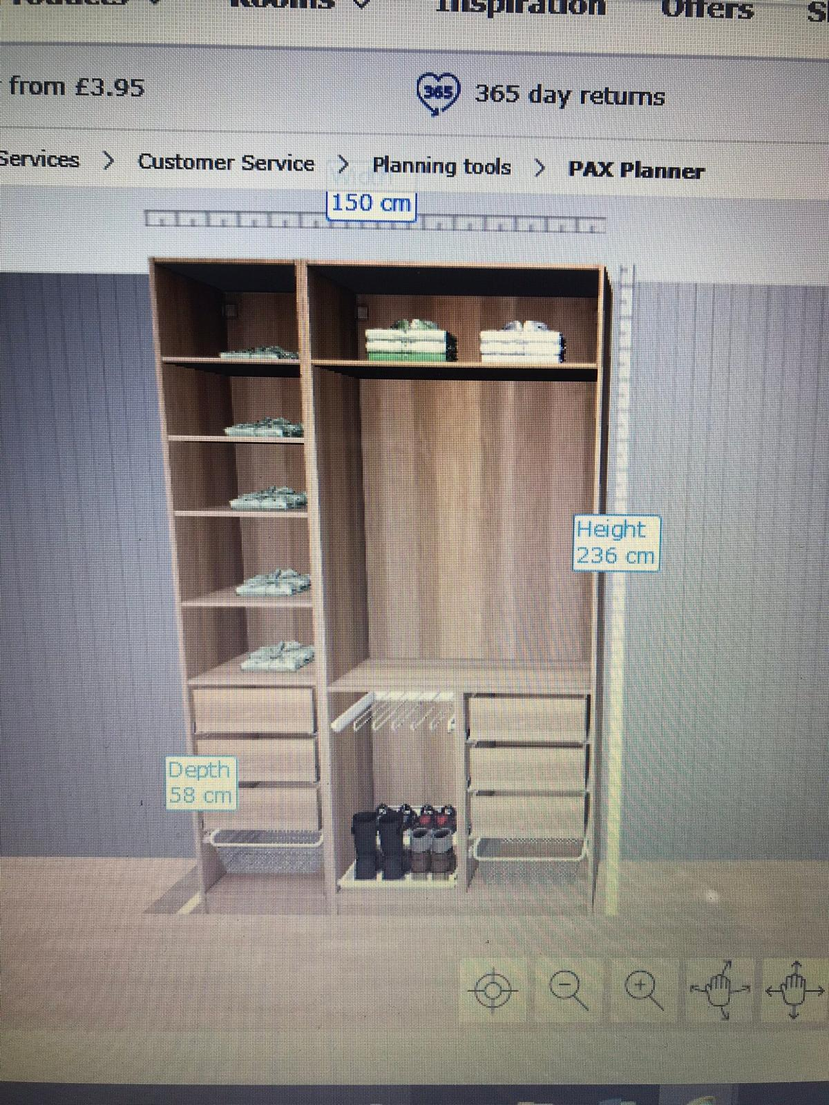 Ikea Pax Wardrobe In S35 Sheffield For 10000 For Sale Shpock