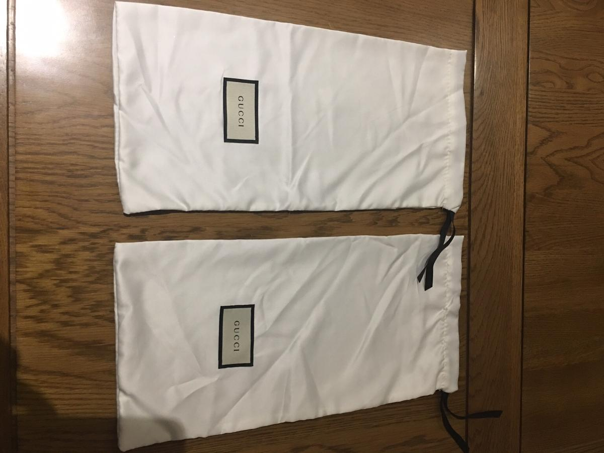 36f644f672e Gucci shoe dust bag satin in SW7 Chelsea for £20.00 for sale - Shpock