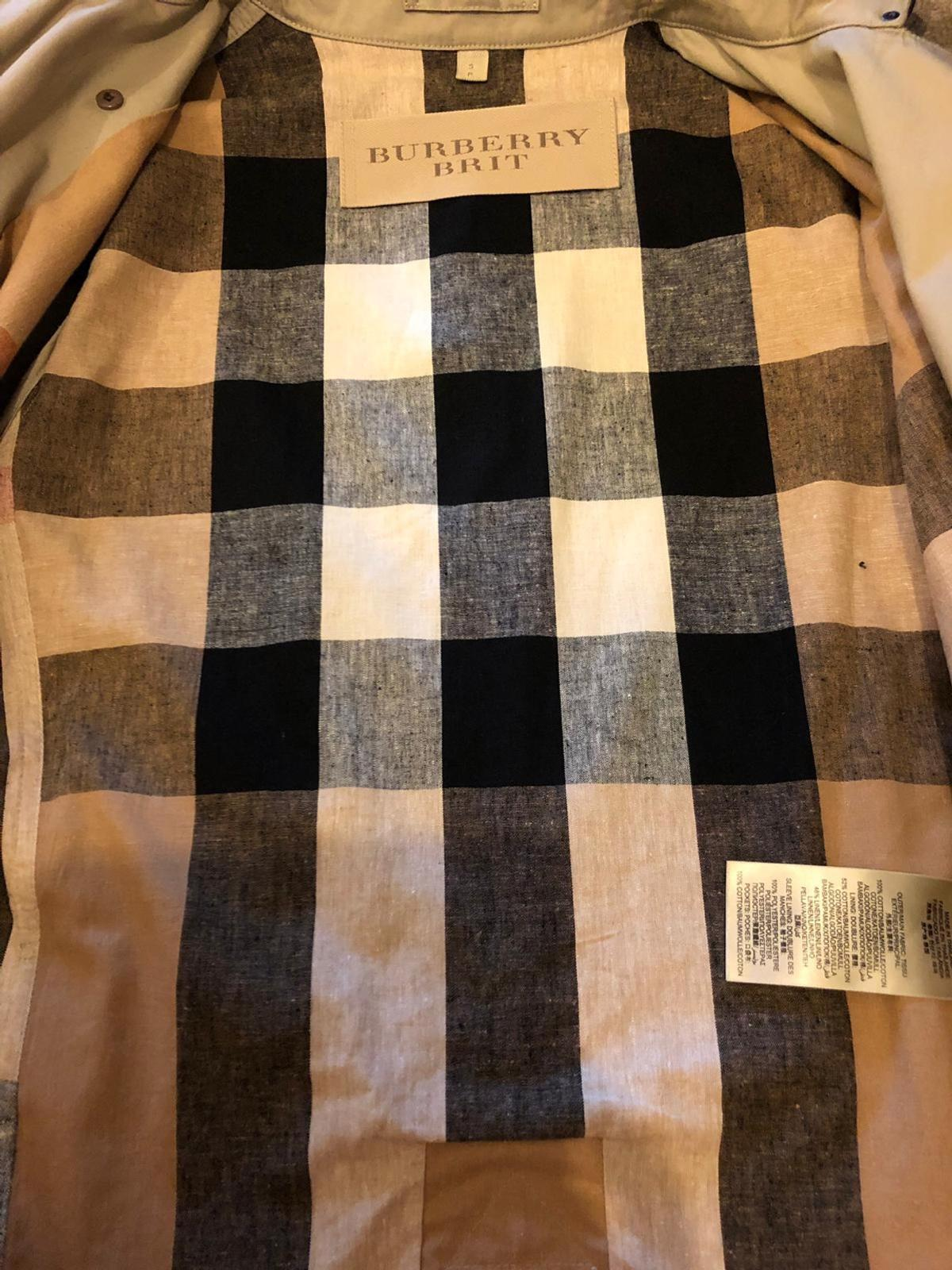Limited edition hooded Burberry trench coat in SG15 Stotfold