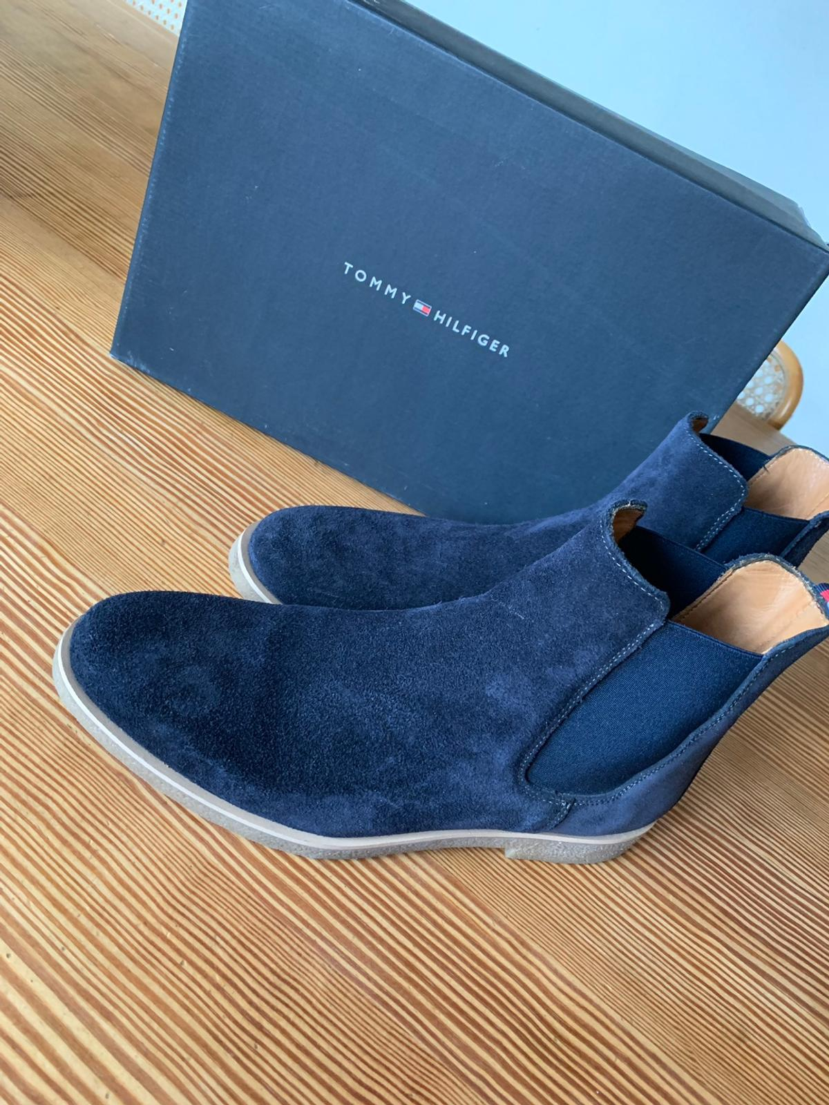the best attitude 6eb1a 648bc Tommy Hilfiger Schuhe - Chelsea Boots Gr42/43 in 5020 ...