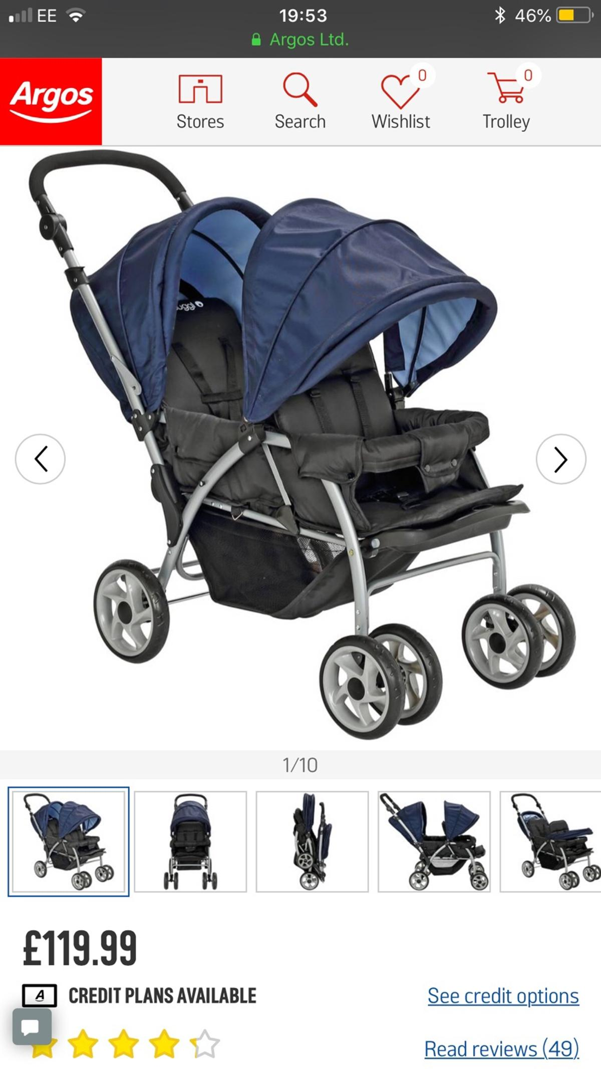 Cuggl double stroller