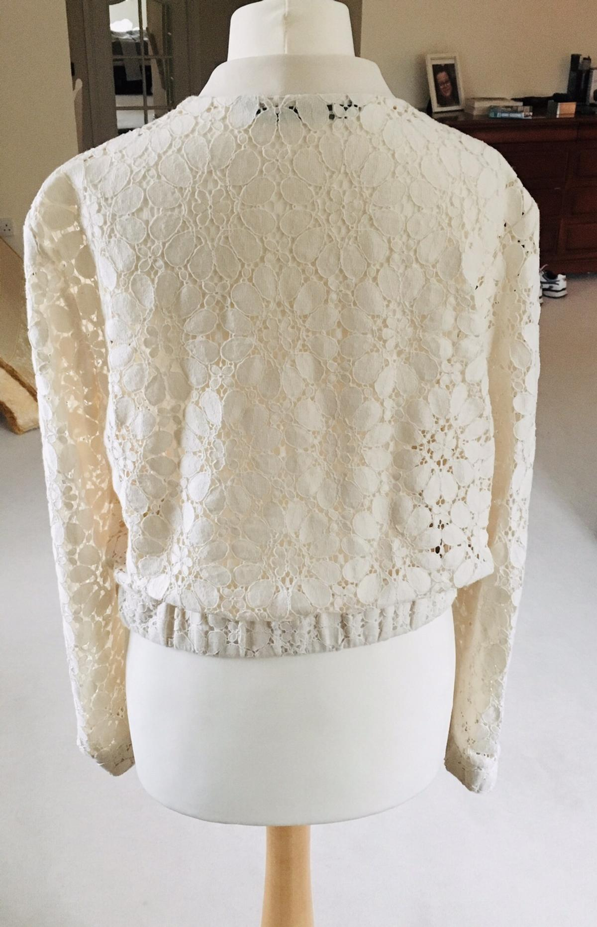 6ea0347ef Zara lace bomber jacket size M in B45 Bromsgrove for £6.00 for sale ...