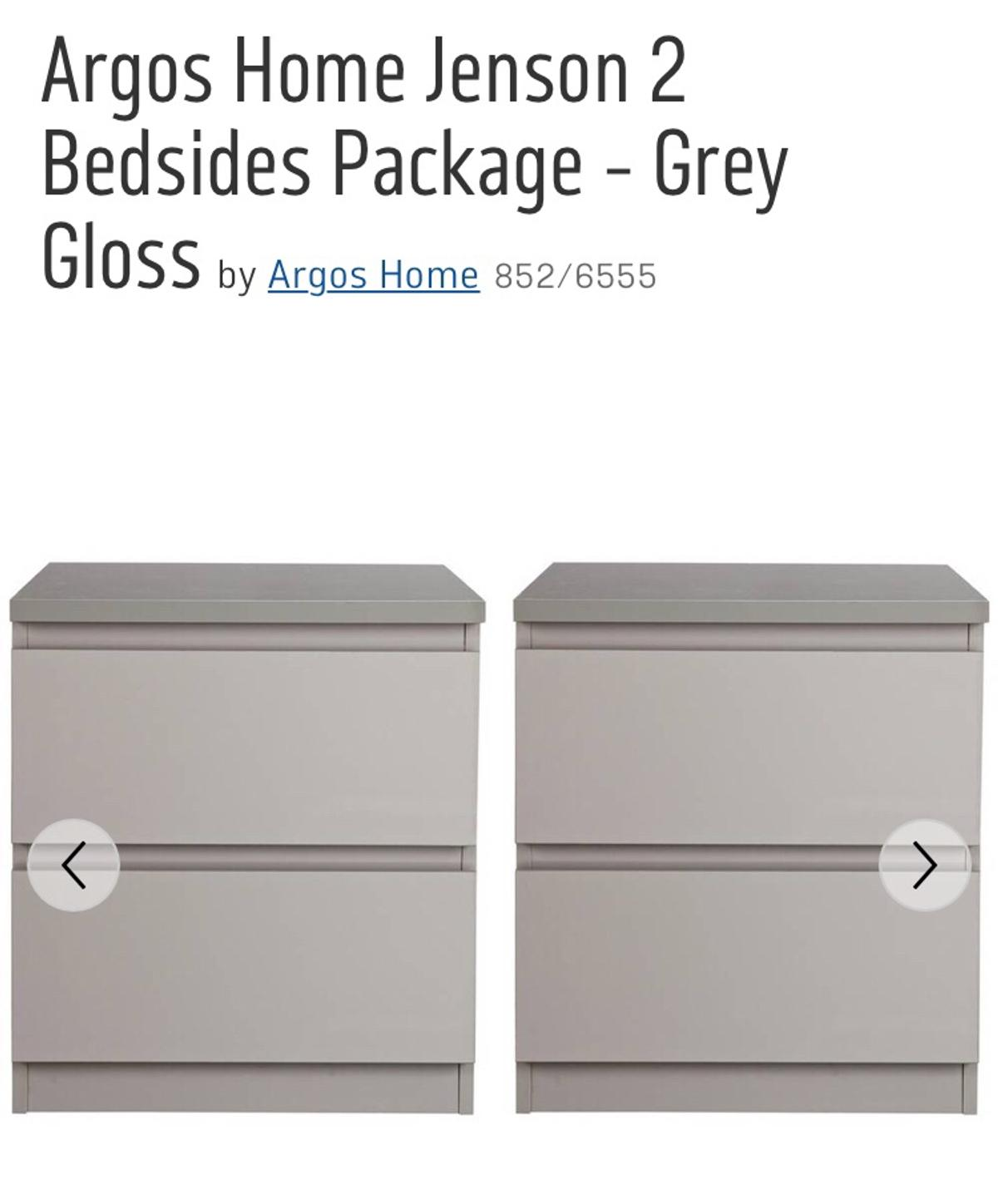 7336c4654840 Argos Home Jenson 2 Bedsides Package - Grey in St Albans for £70.00 ...