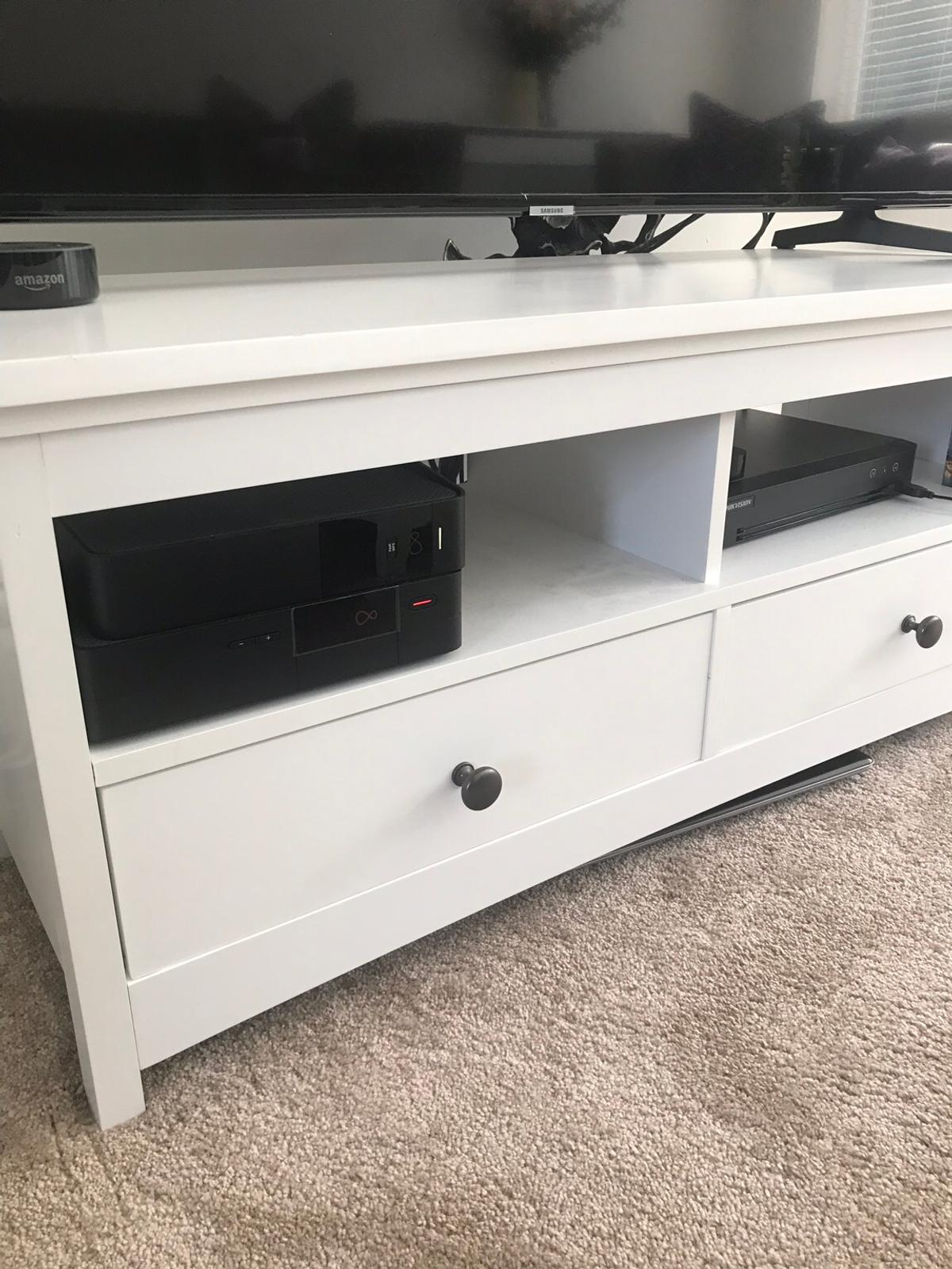 George Asda White Tv Stand Cabinet Table In Sk16 Tameside
