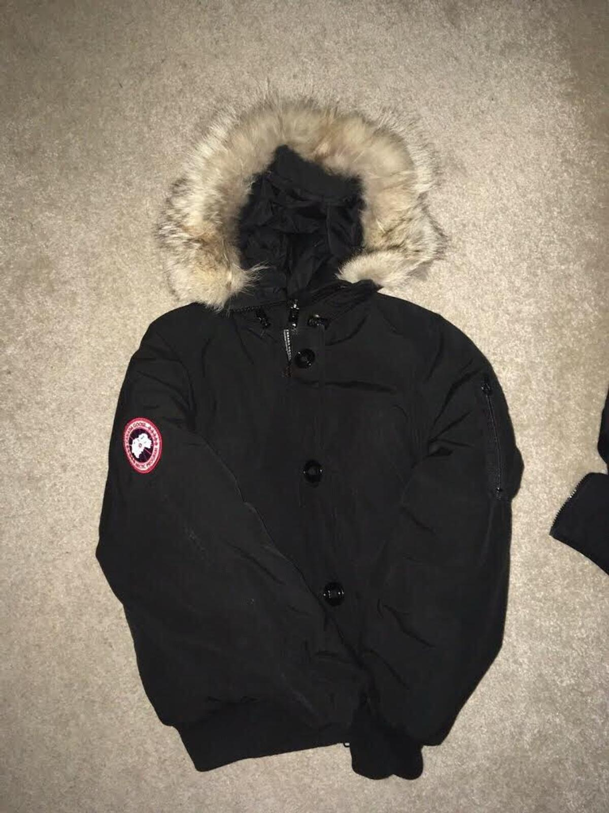 high fashion matching in colour popular brand Canada Goose Chilliwack Bomber Black