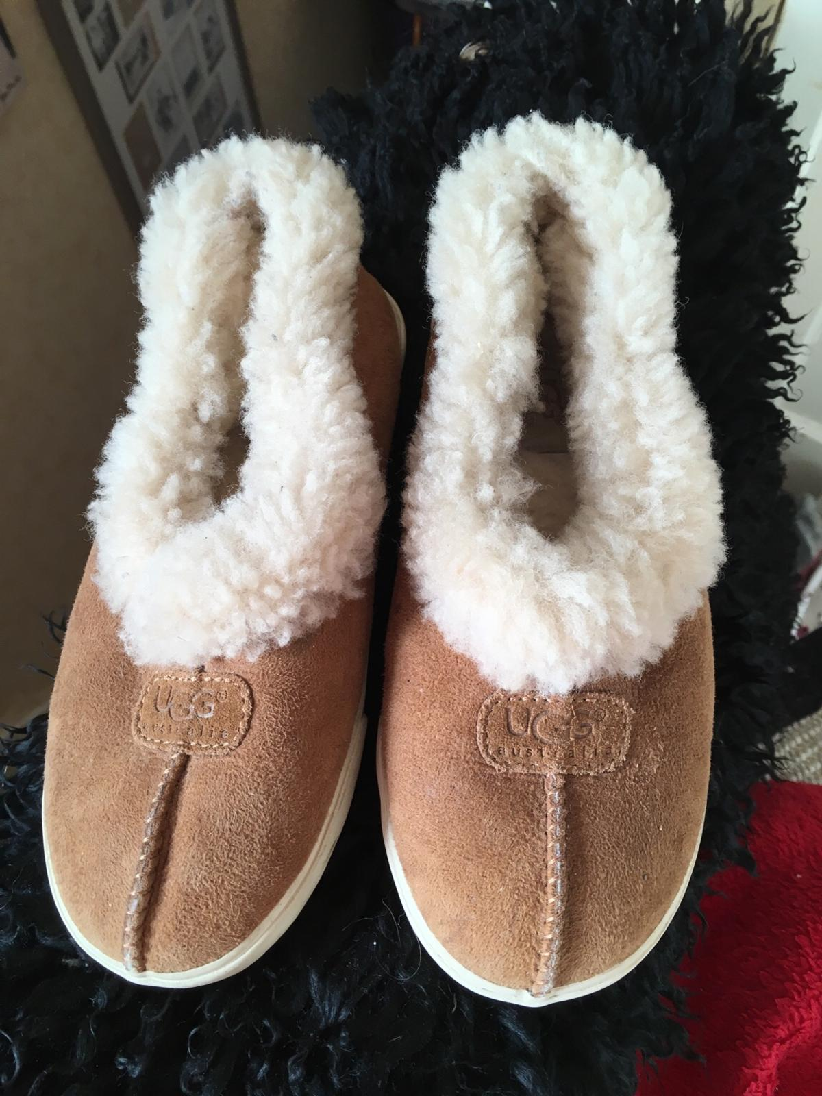 45d4ad4ca64 Genuine UGG hard sole slippers/shoes