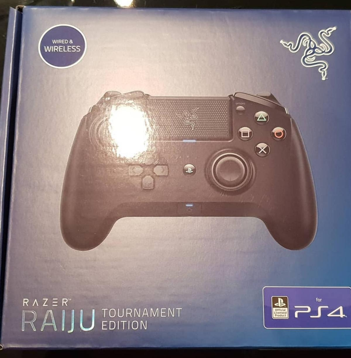 Razer Raiju Tournament Edition Ps4 In Wf1 Wakefield For 90 00 For Sale Shpock The razer raiju tournament edition offers a competitive edge and premium feel… at a premium price. razer raiju tournament edition ps4