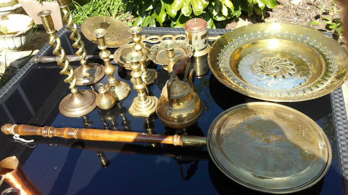 Selection Of Decorative Brass Items In B32 Birmingham For 28 00 For Sale Shpock