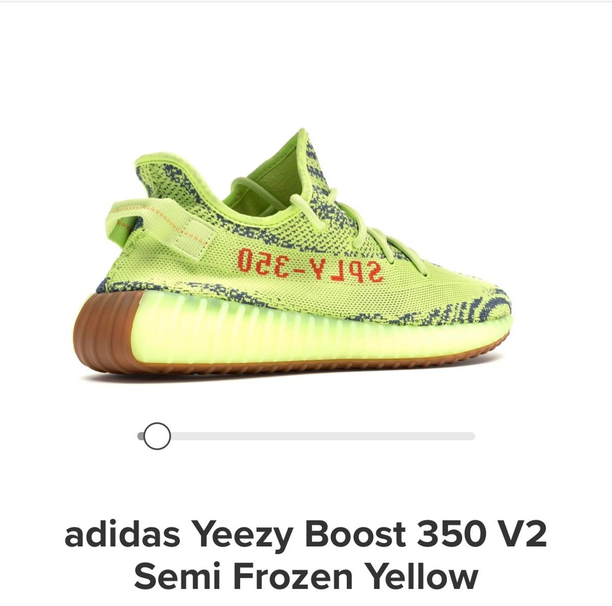 9c409c916 Yeezy 350 frozen yellow in BD5 Bradford for £220.00 for sale - Shpock