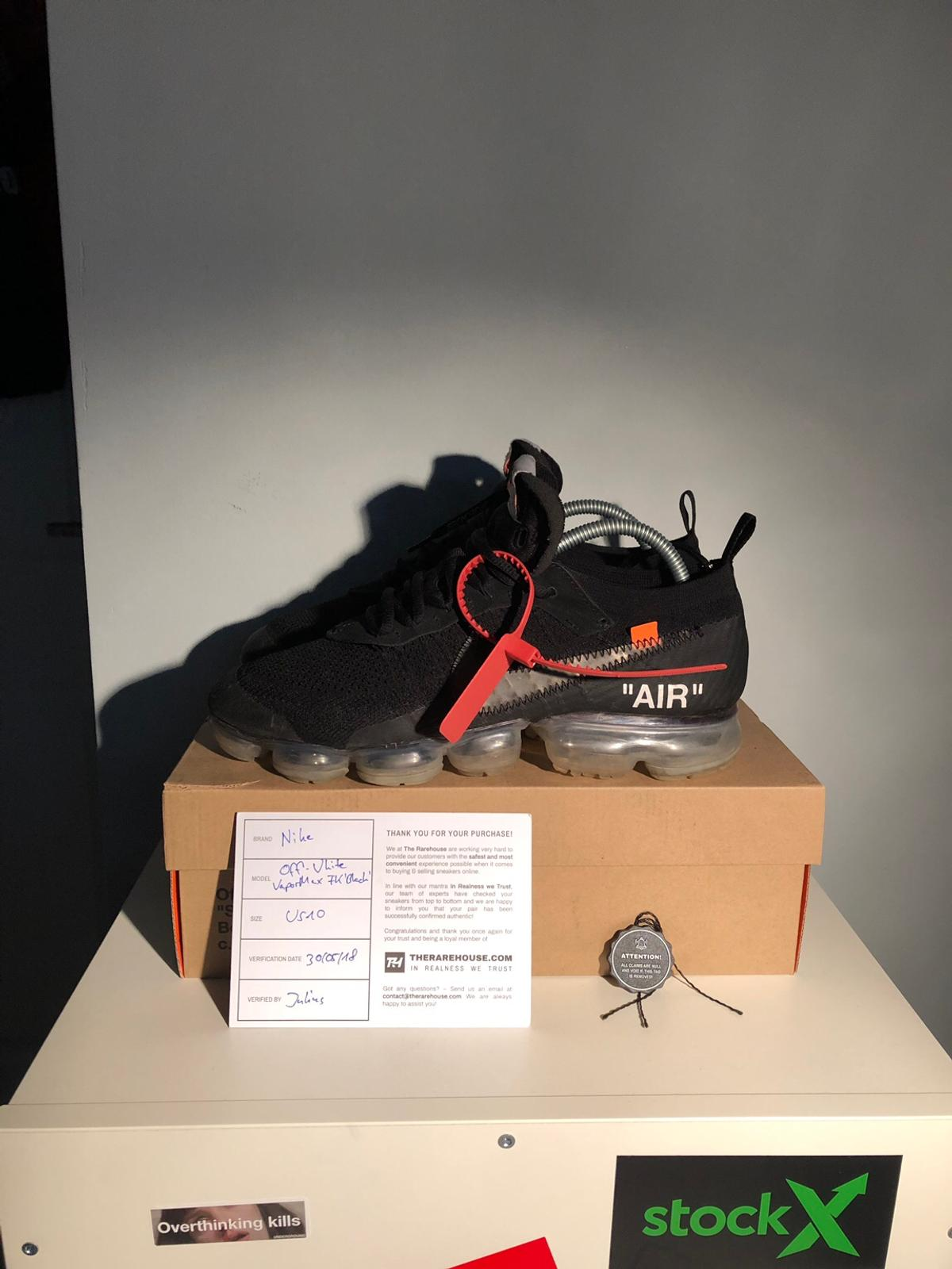 Nike x Off White Vapormax Black
