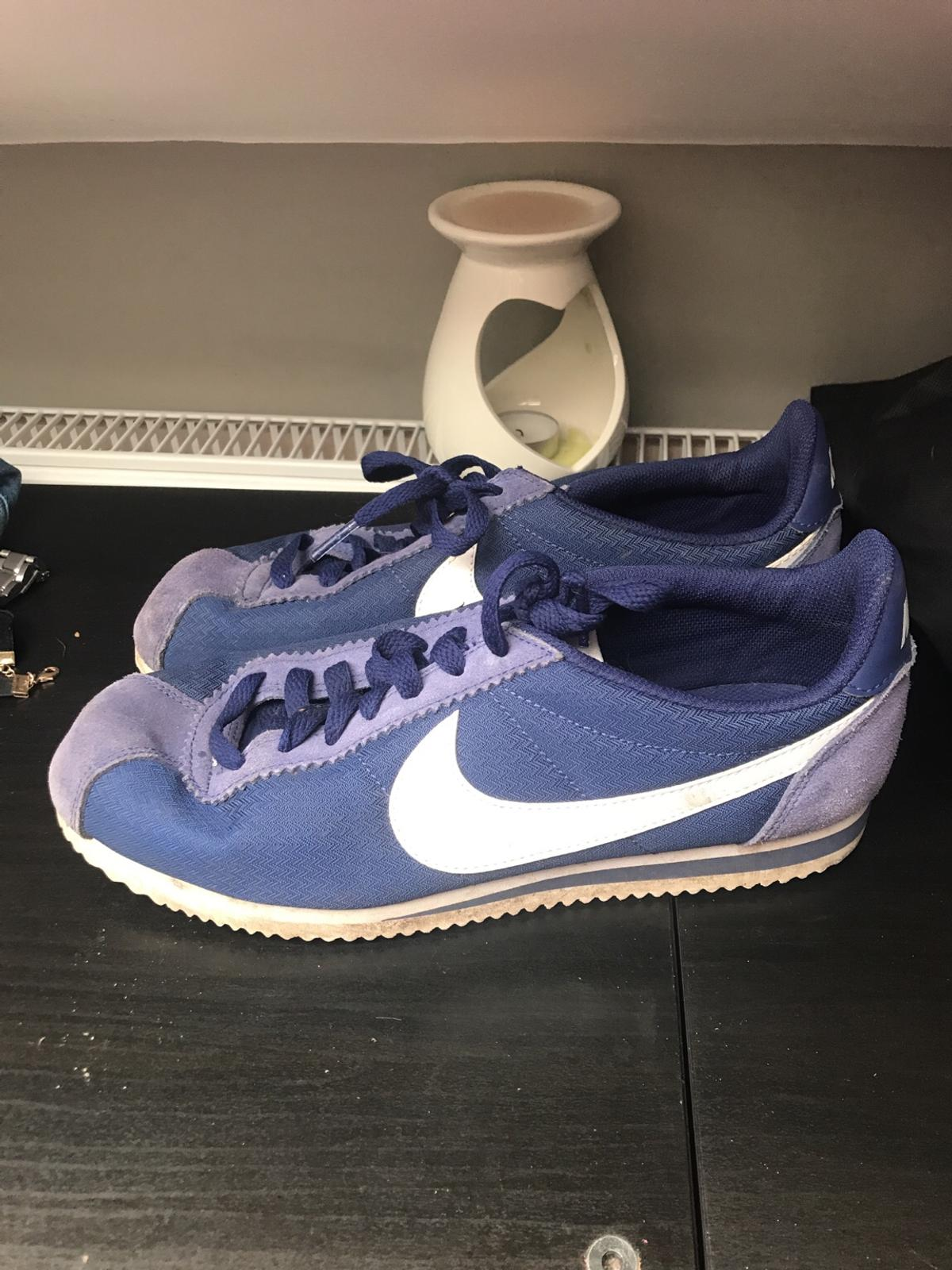 super popular 0d1bc 665cf Nike Cortez Fabric Navy Blue size 7/41