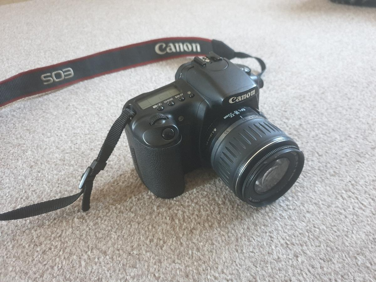 Canon Eos 20D Digital SLR with carry case in Buckley for