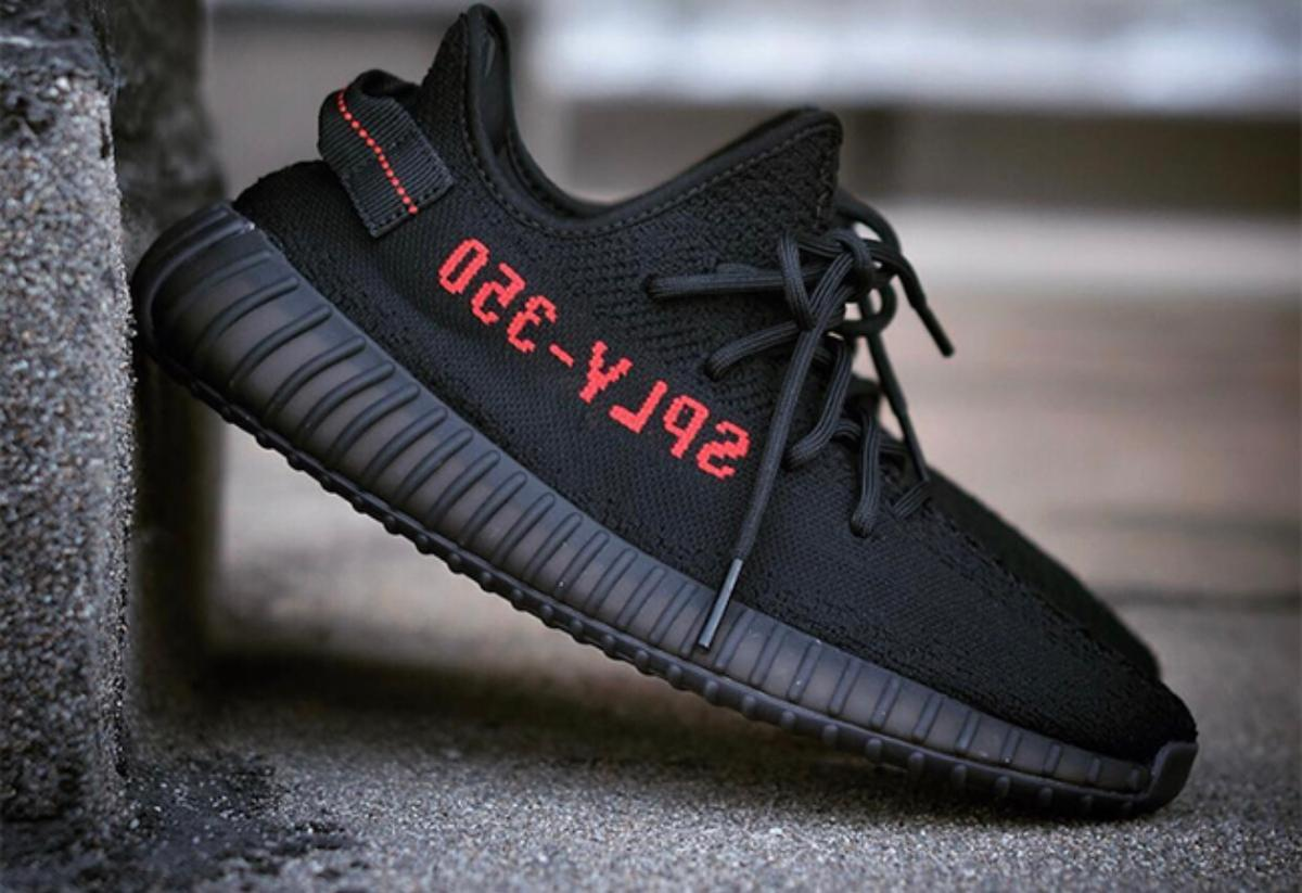 buy online f9ba5 2ba34 Yeezy Boost 350 V2 Black Red Bred