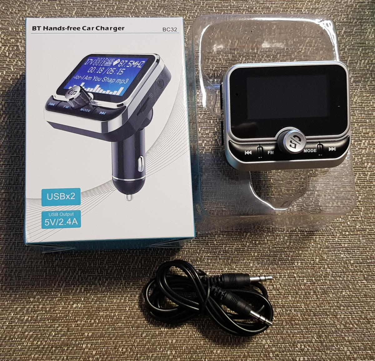 Bluetooth FM Transmitter in GU2 Guildford for £15 00 for