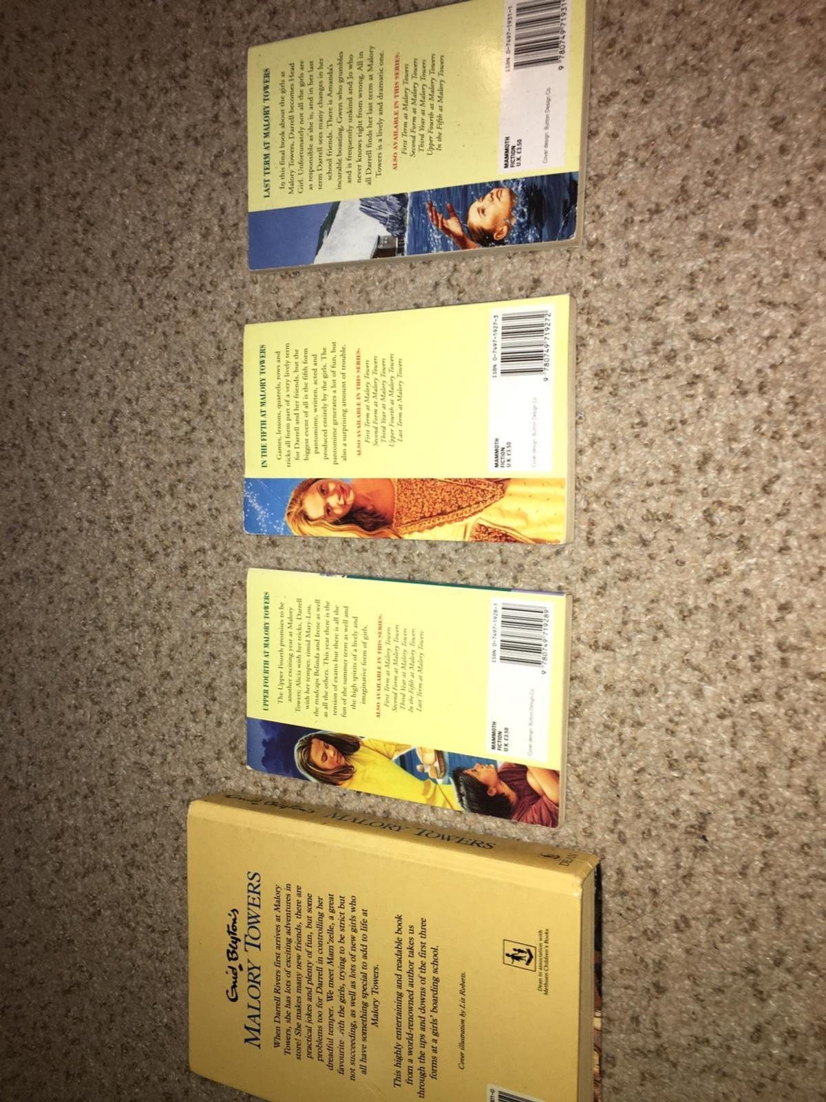 Enid Blyton's malory towers collection
