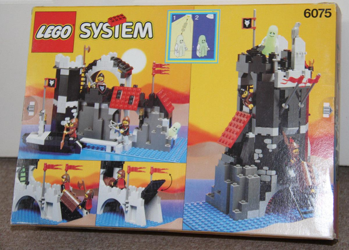 Vintage Lego Castle 6075 Wolfpack Tower New In Ll68 Pentrefelin For