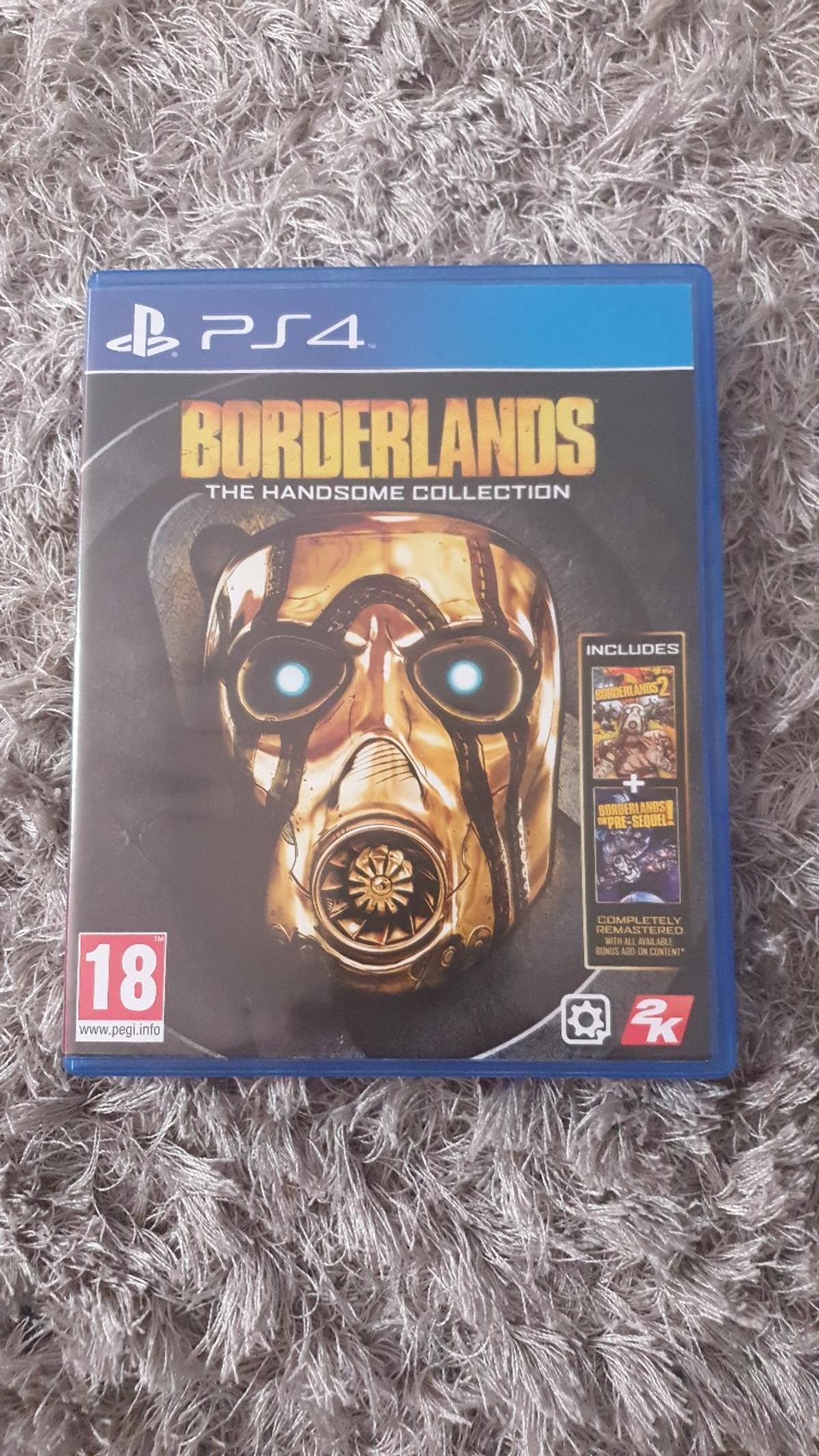 PS4 Game - Borderlands Handsome Collection