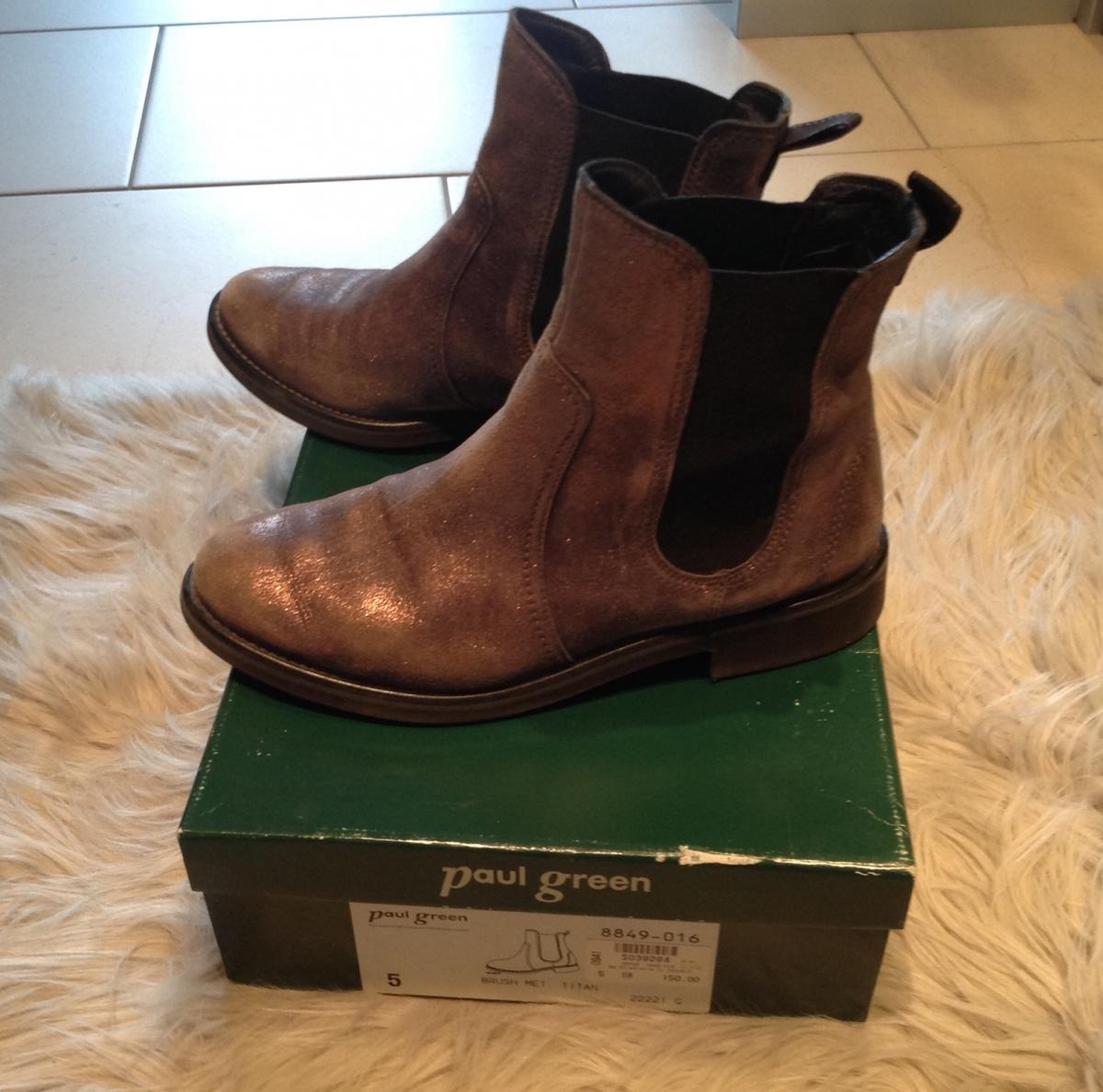 150 Stiefelette Np Paul Paul Green Green gf76by
