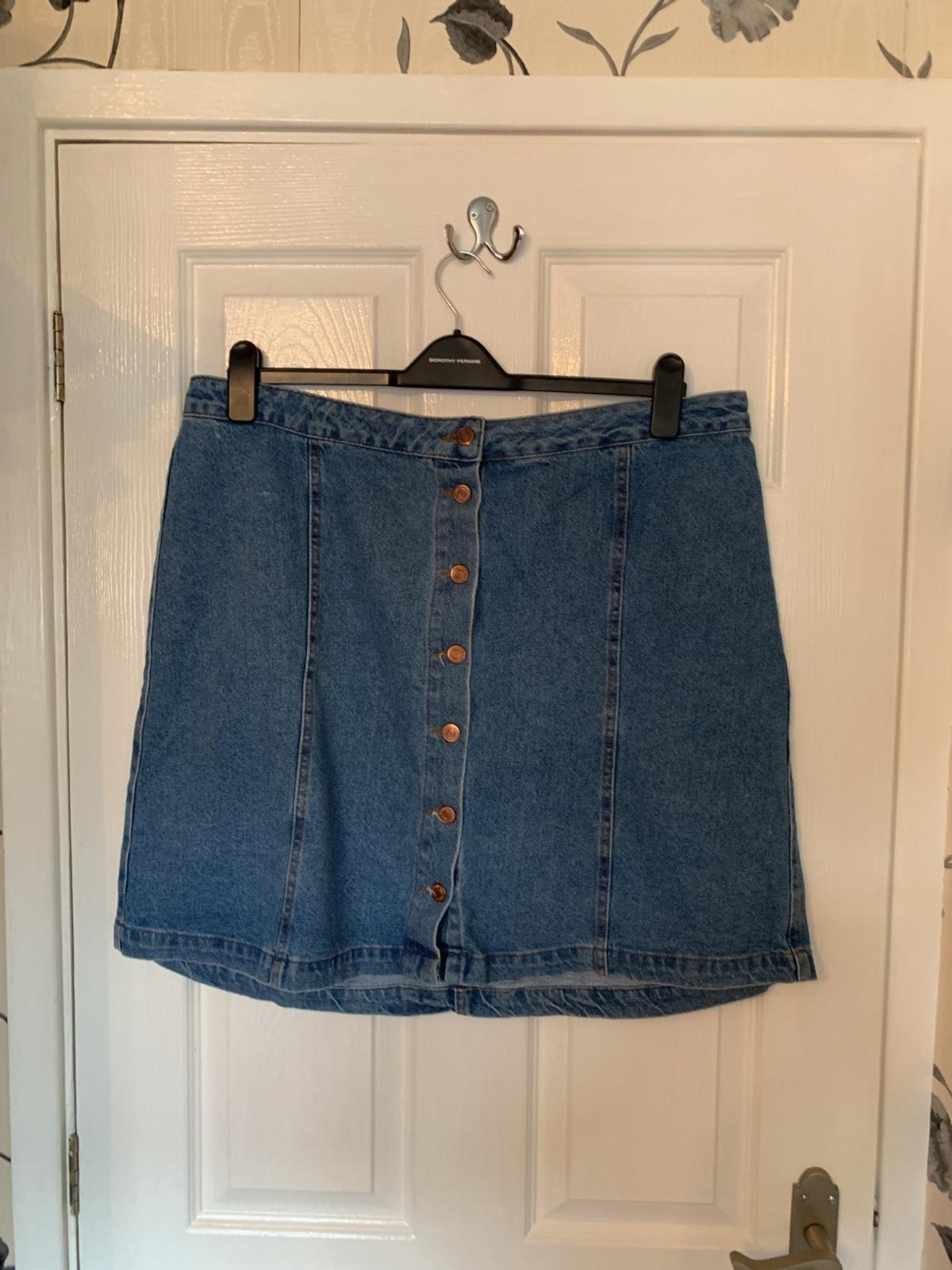 7b7e1fff21 NEW LOOK CURVES DENIM SKIRT SIZE 20 in Oakengates for £3.00 for sale ...