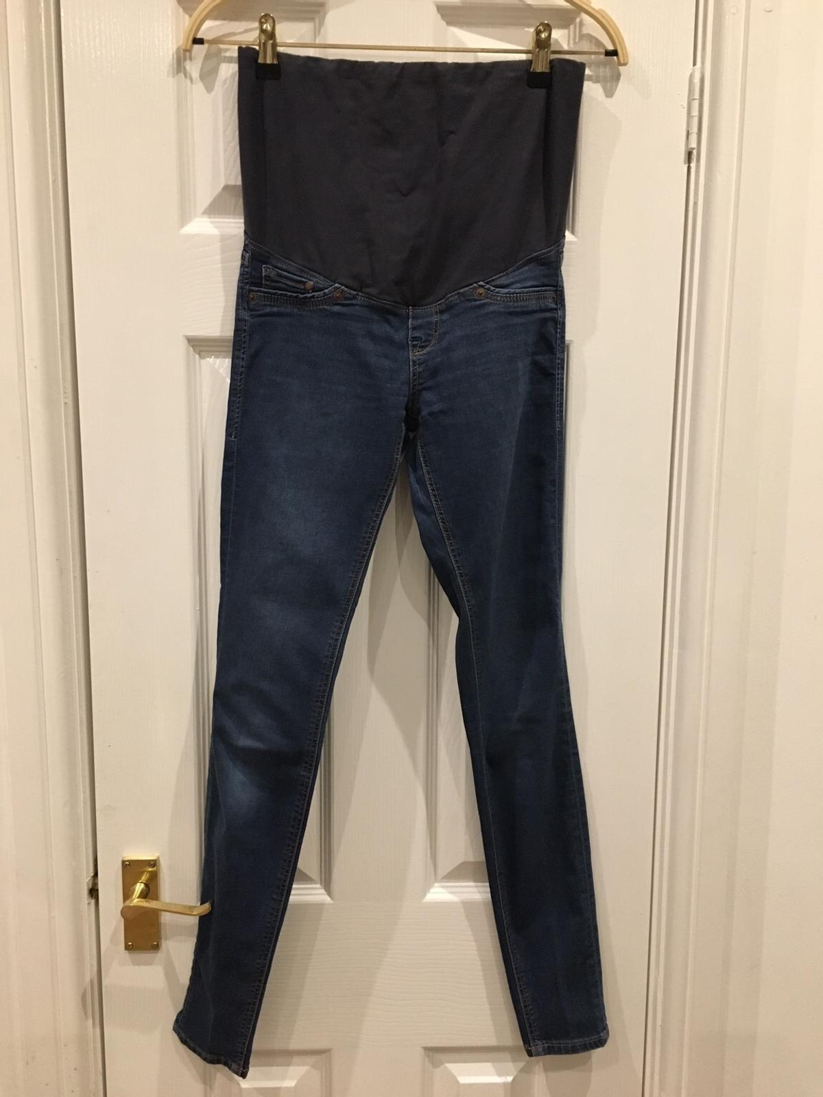 d90e5536230d5 H&M mama super skinny high rib jeans size 6-8 in B92 Solihull for ...