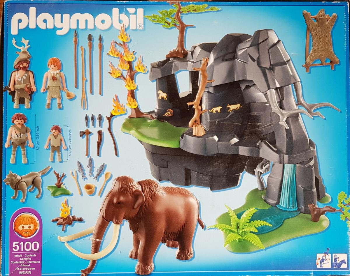 wholesale online classic shoes quality Playmobil Große Steinzeithöhle mit Mammut