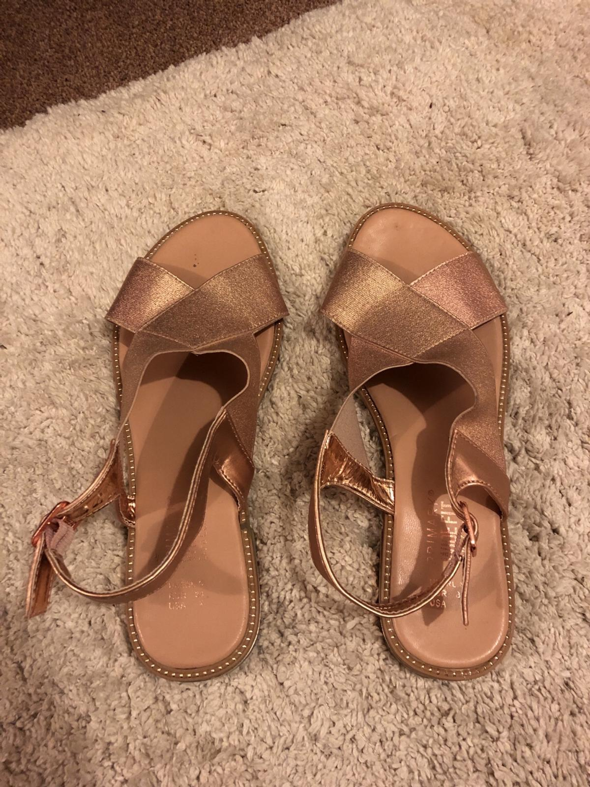 detailing great fit buy online Rose gold sandals size 5 in HP12 Wycombe for £5.00 for sale   Shpock
